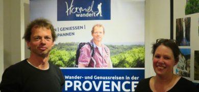 Harald Hamel und Astrid Saubert vom Kräutercafé