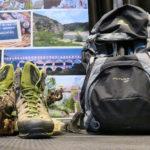 Entspannung pur für die Wanderschuhe und den Rucksack von Hamel wandert